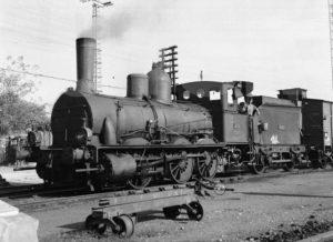 Loc. 030-2549 ex ANDALUCES 75 en Utrera. 1965.