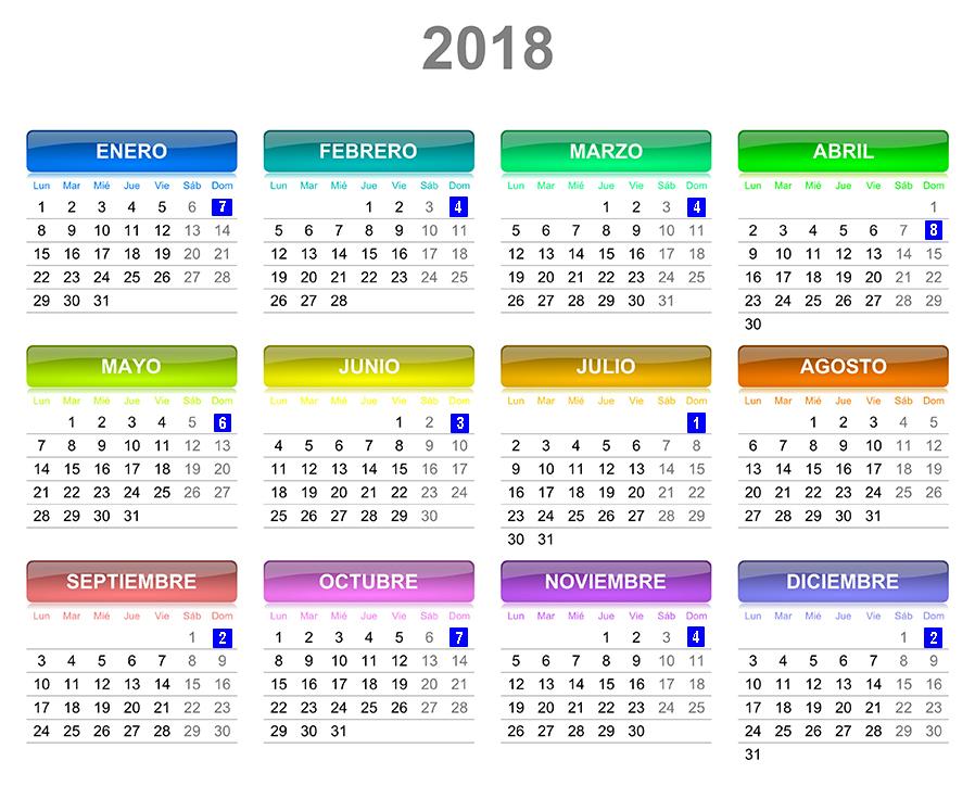 Calendario gestion ferroviaria for Calendario ferias